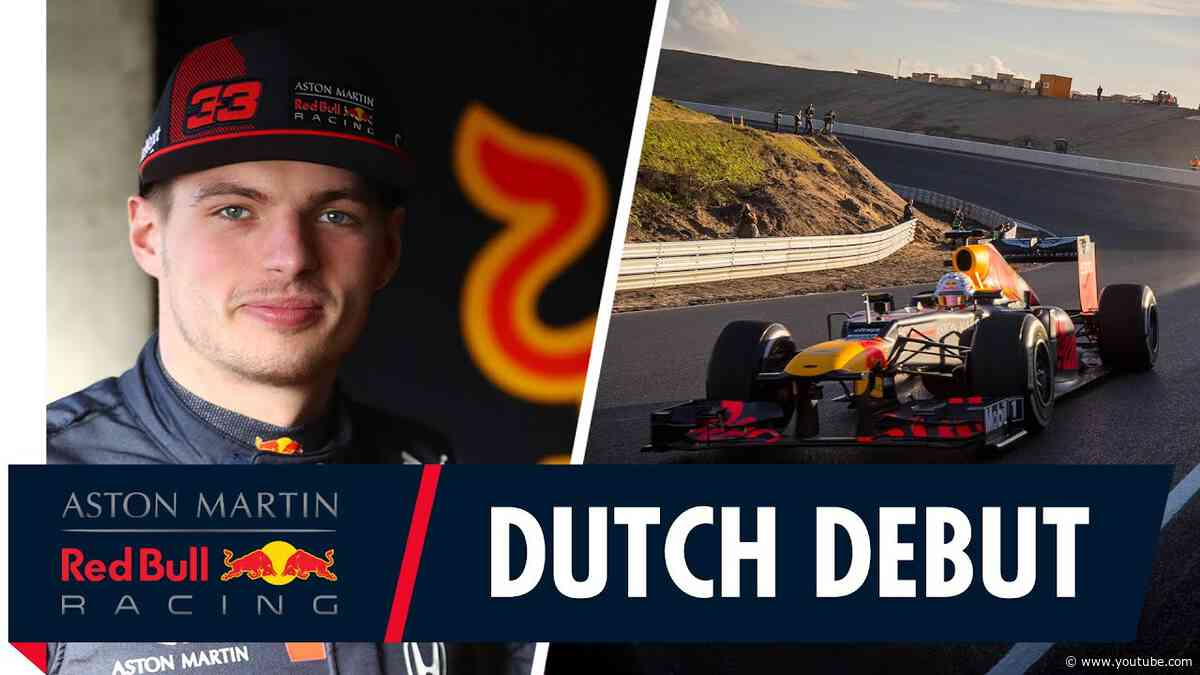Dutch Debut | Max Verstappen drives the RB8 at the newly renovated Zandvoort Circuit