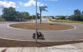 En algunas semanas será inaugurada la doble vía de continuación avenida Aiguá - maldonadonoticias.com