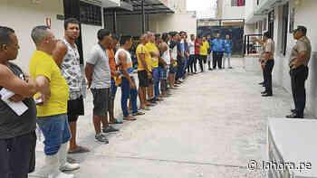 En operativo intervienen a doce extranjeros ilegales - La Hora
