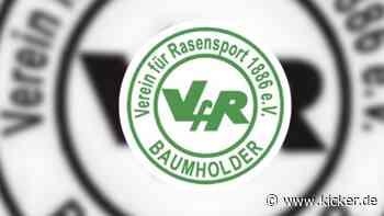 Tragischer Todesfall bei Landesligist VfR Baumholder - kicker - kicker