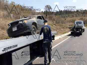 Se lesionan cinco en volcadura en la Carretera Federal Zitacuaro-Morelia - www.americanovictor.com