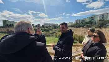 Bari, Decaro e il direttore di Asset Puglia Sannicandro al sopralluogo nella ex cava di Maso - Giornale di Puglia