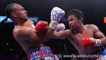 Manny Pacquiao - der Boxer, der immer weiter kämpft - Süddeutsche Zeitung