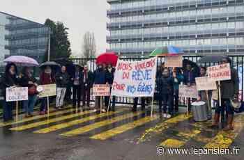 Franconville : les enseignants du collège Bel-Air réclament plus de moyens - Le Parisien