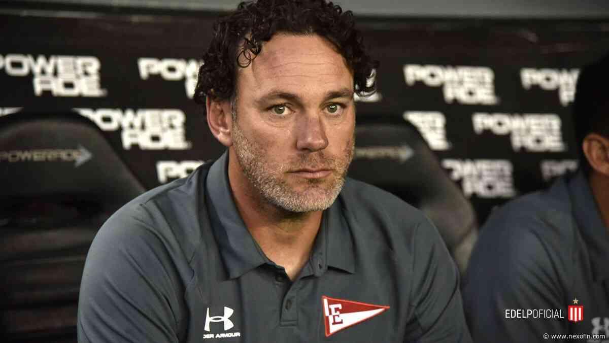 Gabriel Milito dejó de ser el técnico de Estudiantes (LP) - Nexofin