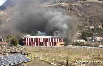 In fiamme macelleria industriale a Postal - Agenzia ANSA