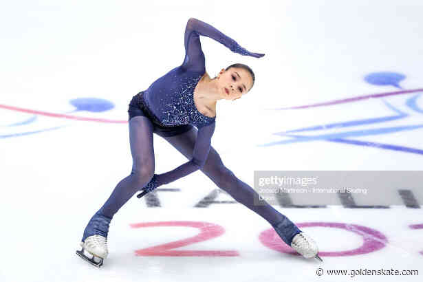 Kamila Valieva front runner at Junior Worlds