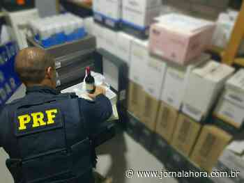 Polícia 06 de Março de 2020 PRF apreende mais de 300 garrafas de vinho em Soledade - Jornal a Hora