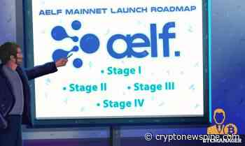 aelf (ELF) Mainnet Launch Roadmap Announcement Details - Crypto News Pipe