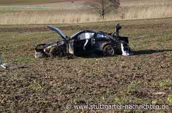 Sportwagen-Unfall in Holzgerlingen - 28-Jährige stirbt zwei Tage nach schwerem Unfall - Stuttgarter Nachrichten