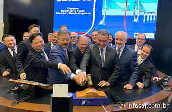 Chineses devem assinar contrato da Ponte Salvador-Itaparica na próxima semana, diz Rui no 'Papo Correria' - Infosaj