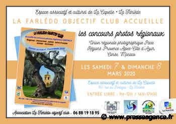 LA FARLEDE : Exposition concours photos régionaux URPPACA, samedi 7 et dimanche 8 mars 2020 - La lettre économique et politique de PACA - Presse Agence