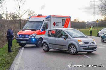 Karlsruhe 0 Unfall im Walzbachtal: Zwei Verletzte und 9.000 Euro Sachschaden - ka-news.de