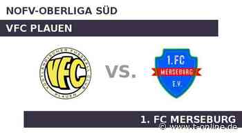 VFC Plauen gegen 1. FC Merseburg: 1. FC Merseburg auf fremden Plätzen eine Macht - t-online.de