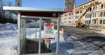 Pierrefonds-Roxboro bus stop returns after being temporarily out of service: borough mayor - Global News