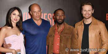 Sam Heughan Liked Getting To Fight Vin Diesel in 'Bloodshot'