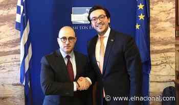 El Parlamento griego recibió al embajador de Juan Guaidó - El Nacional