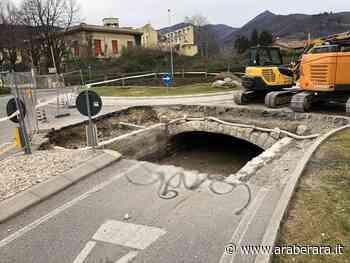 RANICA - Copertura della Roggia Serio, lavori alla rotonda di Via Marconi per 160 mila euro. Disagi al traffico - Araberara