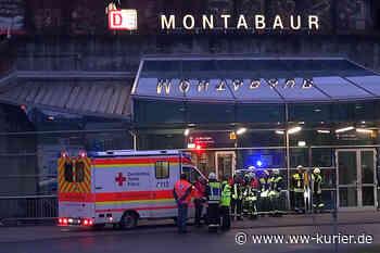 Mann wird vom einfahrenden ICE am Bahnhof Montabaur erfasst und schwer verletzt - WW-Kurier - Internetzeitung für den Westerwaldkreis