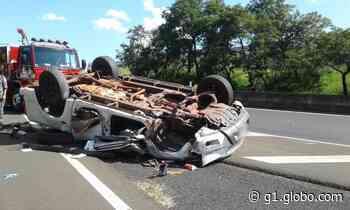 Capotamento deixa feridos e uma pessoa morta em rodovia de Tanabi - G1