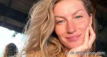 Gisele Bündchen überrascht mit Selfie ohne Make-Up – das ist ihre überraschend einfache Schönheitspflege - Yahoo Nachrichten Deutschland