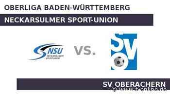 Neckarsulmer Sport-Union gegen SV Oberachern: Geht die Erfolgsserie von Neckarsulm weiter? - t-online.de