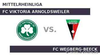 FC Viktoria Arnoldsweiler gegen FC Wegberg-Beeck: Der Spitzenreiter reist an - t-online.de