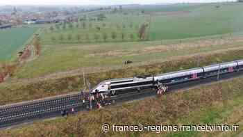 Un TGV Strasbourg-Paris déraille ce matin à Ingenheim près de Hochfelden - France 3 Régions