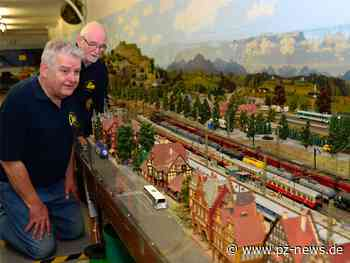 Die große Welt der kleinen Züge: Eisenbahnfreunde Ispringen werden 40 Jahre alt - Region - Pforzheimer Zeitung