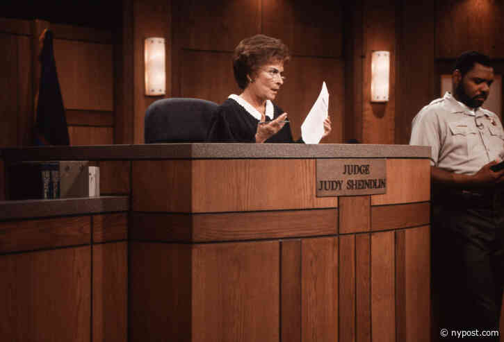 'Judge Judy' Will End After 25 Seasons, As Judy Sheindlin Preps New Show - New York Post