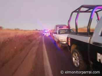 SE IMPACTA AUTO CONTRA TRACTOR RUMBO A SANTA BARBARA - El Monitor de Parral