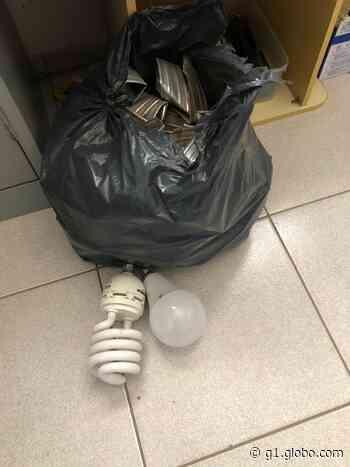 Circuito de segurança flagra homens furtando lâmpadas de igreja em Laranjal Paulista; vídeo - G1
