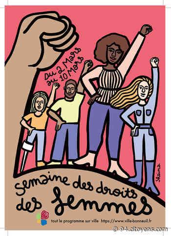 Semaine des droits des femmes à Bonneuil-sur-Marne - 94 Citoyens