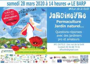 JARDINEYRE Le Barp, 28 mars 2020 - Unidivers
