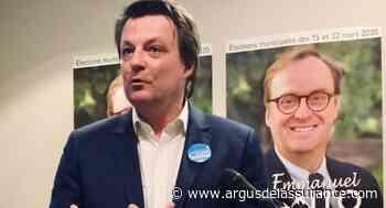 Municipales 2020 : Christophe Hautbourg (Planète CSCA) en campagne à Puteaux - L'Argus de l'Assurance