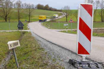 Kreisstraße zwischen Großaltdorf und Ilshofen: Sanierung beginnt im Frühjahr 2021 - Umleitung führt über die L1040 - SWP