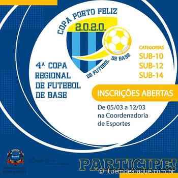 Prefeitura de Porto Feliz abre inscrições para Copa Regional de Futebol de Base - Itu Em Destaque