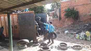 Prefeitura de Porto Feliz destina mais de 3 mil pneus para reciclagem - Itu Em Destaque
