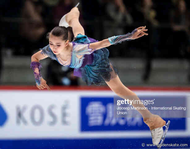 Kamila Valieva captures Junior World gold in season debut