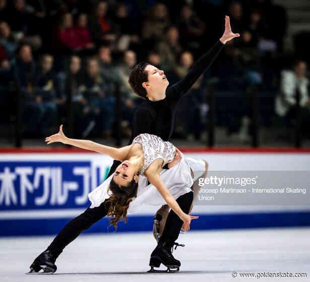 Nguyen and Kolesnikdance to Junior World title