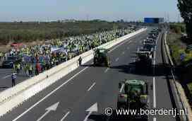 Nieuwsfoto's: Spaanse boeren volharden in acties - Boerderij