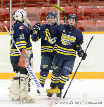 Ice Hawks finish off Flyers - Timmins Press