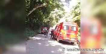 Seis pessoas ficam feridas após carro cair em ribanceira na Serrinha Itaipuaçu-Itaipu - Lei Seca Maricá (LSM)