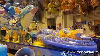 Carnaval des 2 rives à Bordeaux : les bénévoles peaufinent leurs chars à Eysines - France Bleu
