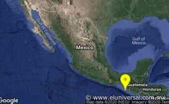 Se registra sismo de 5.0 en Huixtla, Chiapas | El Universal - El Universal
