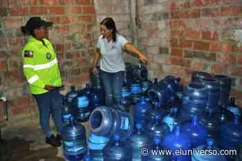 Detectan embotelladora de agua clandestina en el cantón Huaquillas - El Universo