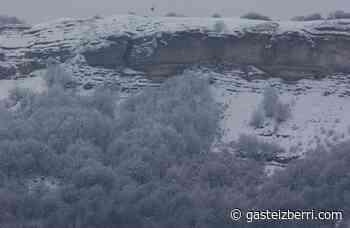La Llanada y Vitoria se levantan nevando - GasteizBerri.com