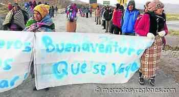 Arequipa: Minem facilita diálogo entre minera Buenaventura y comunidad de Orcopampa - Mercados & Regiones