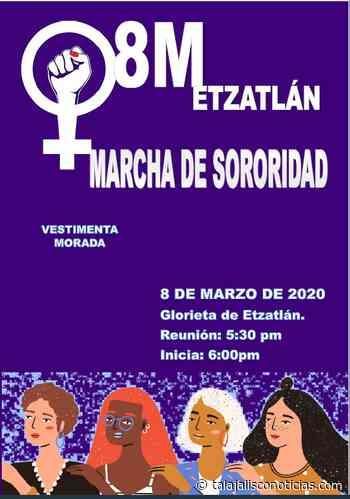 Marcharan Mujeres de Etzatlan, Jalisco esté 8 de marzo en contra de la violencia de género. - Tala Jalisco Noticias