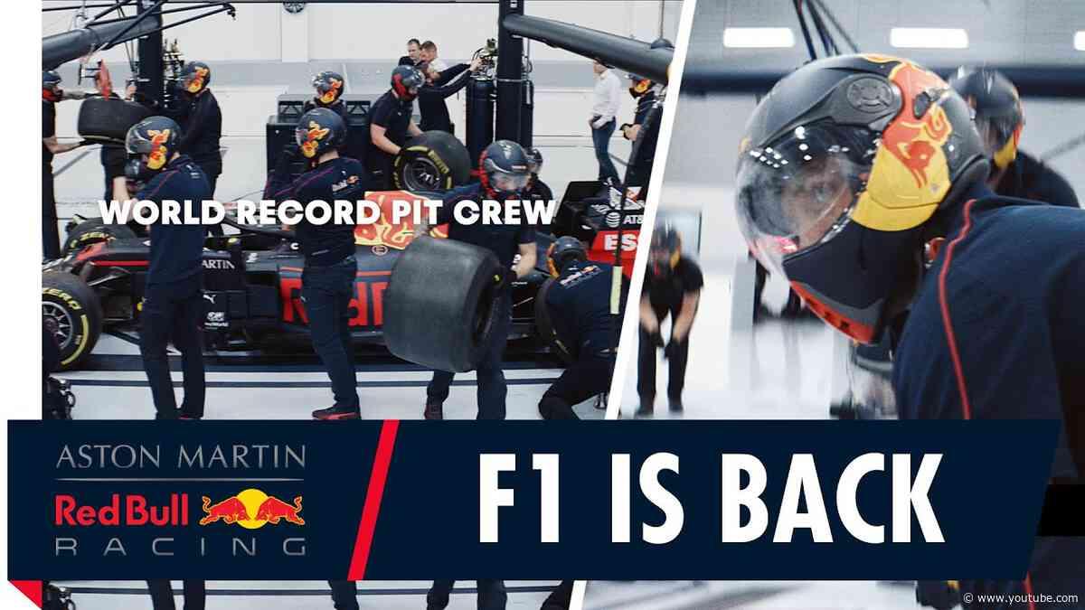 The 2020 season starts here! | F1's World Record pit crew are ready for the Australian Grand Prix.